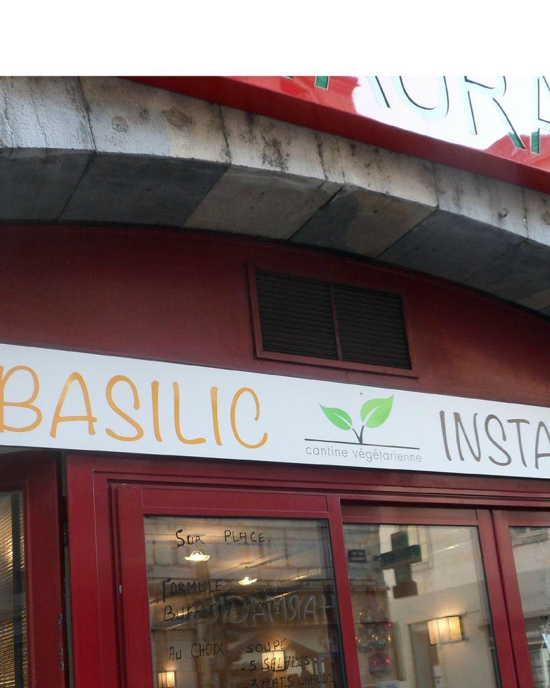 Basilic Instant : cantine végé de Besançon