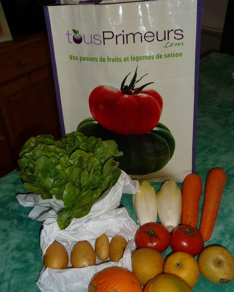 Tous primeurs fruits légumes bio