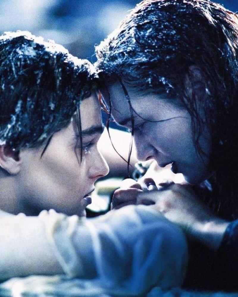 titanic scène finale