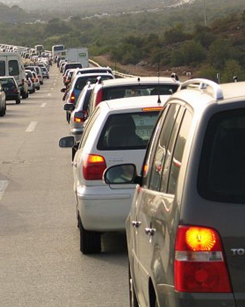 autoroute voiture pollution de l'air