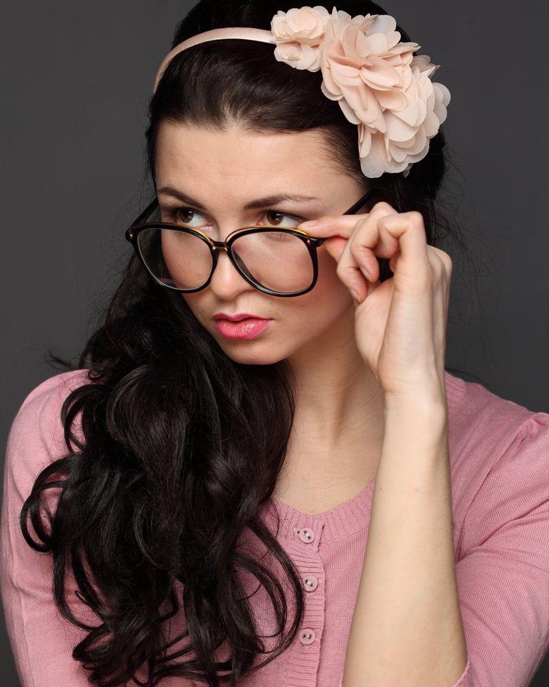 lunettes femme charme