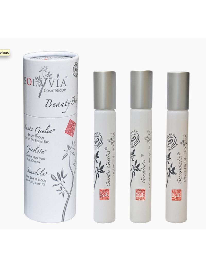 solyvia beauty box soin corps visage