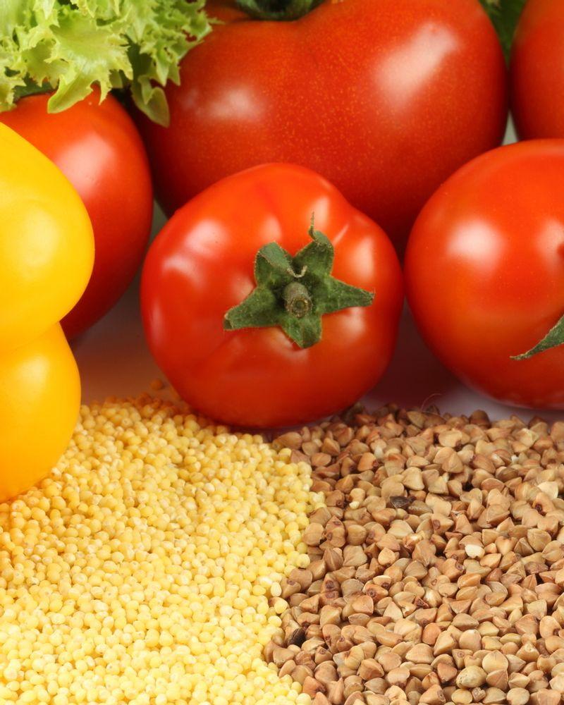 nutrition tomate céréales légumes fruits