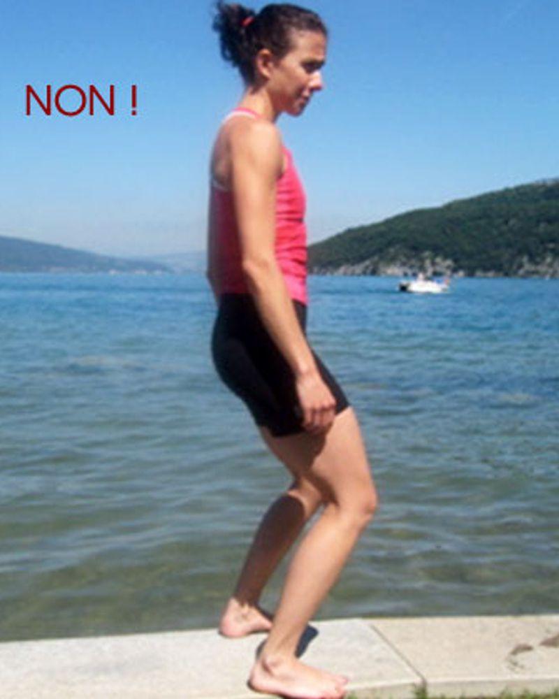 Exercice pour avoir de belles fesse par Barbara Meyer, position à ne pas faire