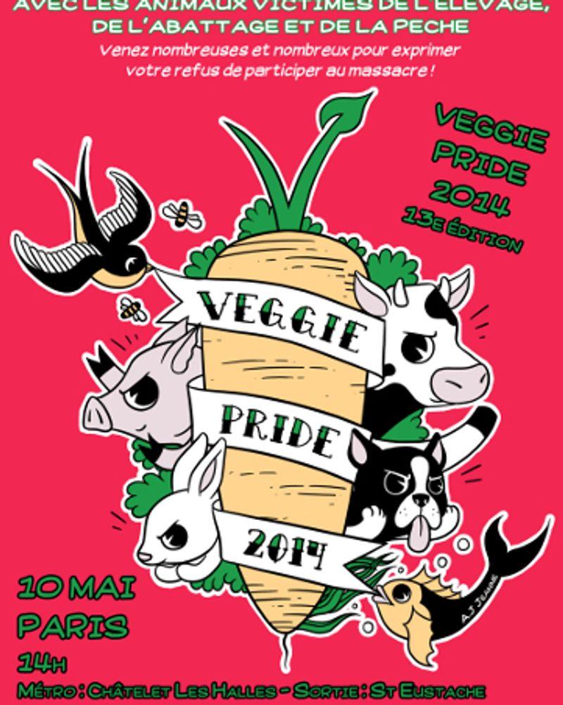 veggie pride 2014 paris