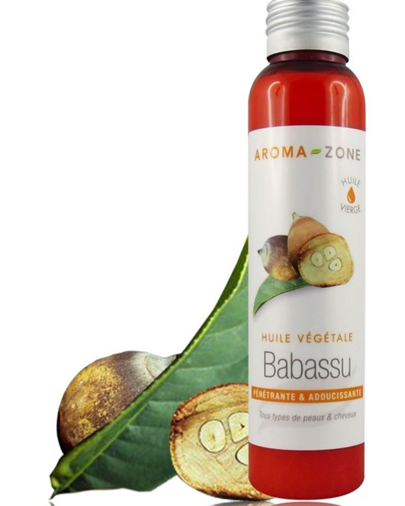 Aroma Zone huile végétale capillaire Babassu