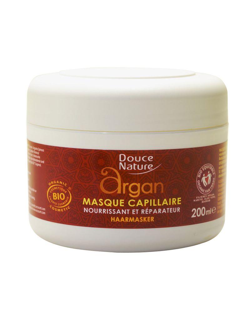 Masque capillaire à l'huile d'Argan de Douce Nature