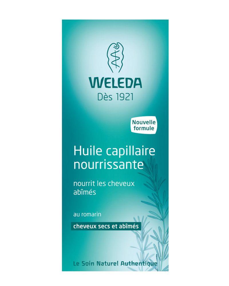 Huile capillaire nourrissante de Weleda