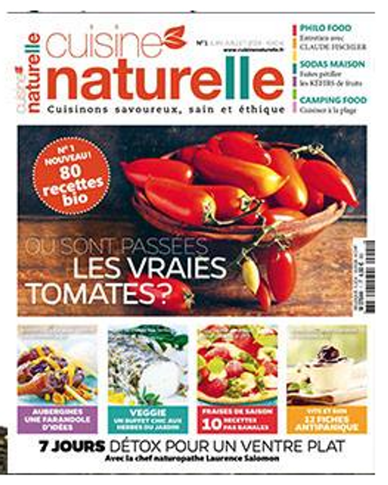 cuisine naturelle magazine