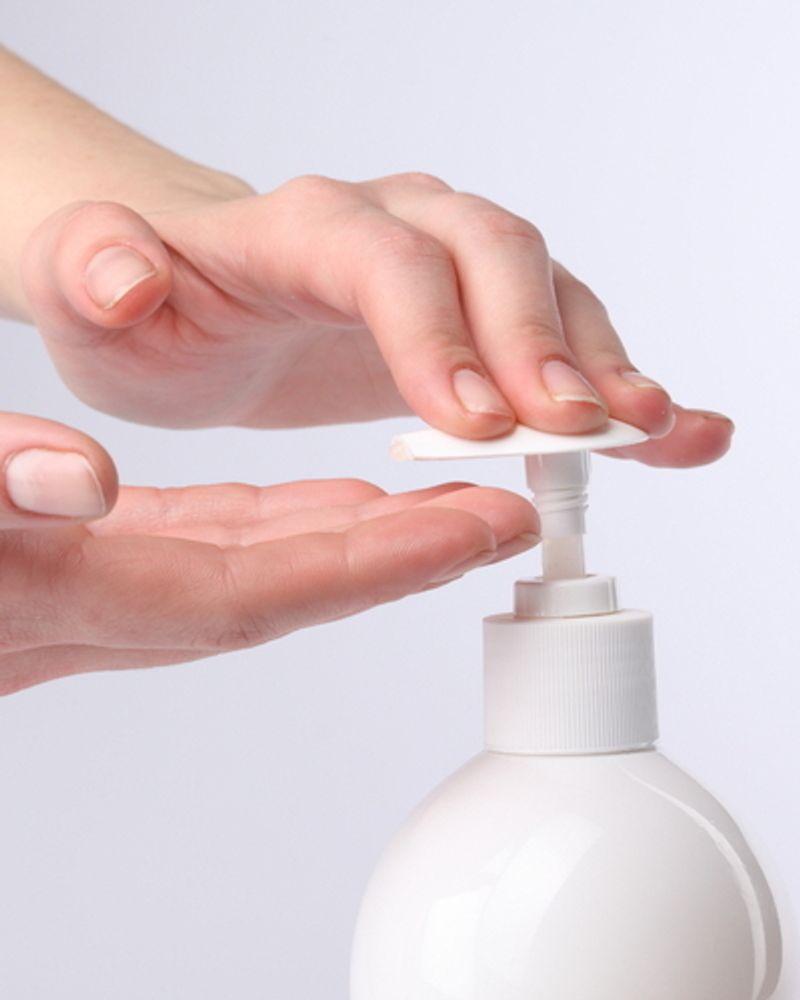main gel savon hydratation
