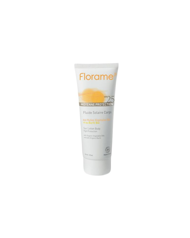 FLORAME    Fluide Solaire Corps SPF25 - 90ml