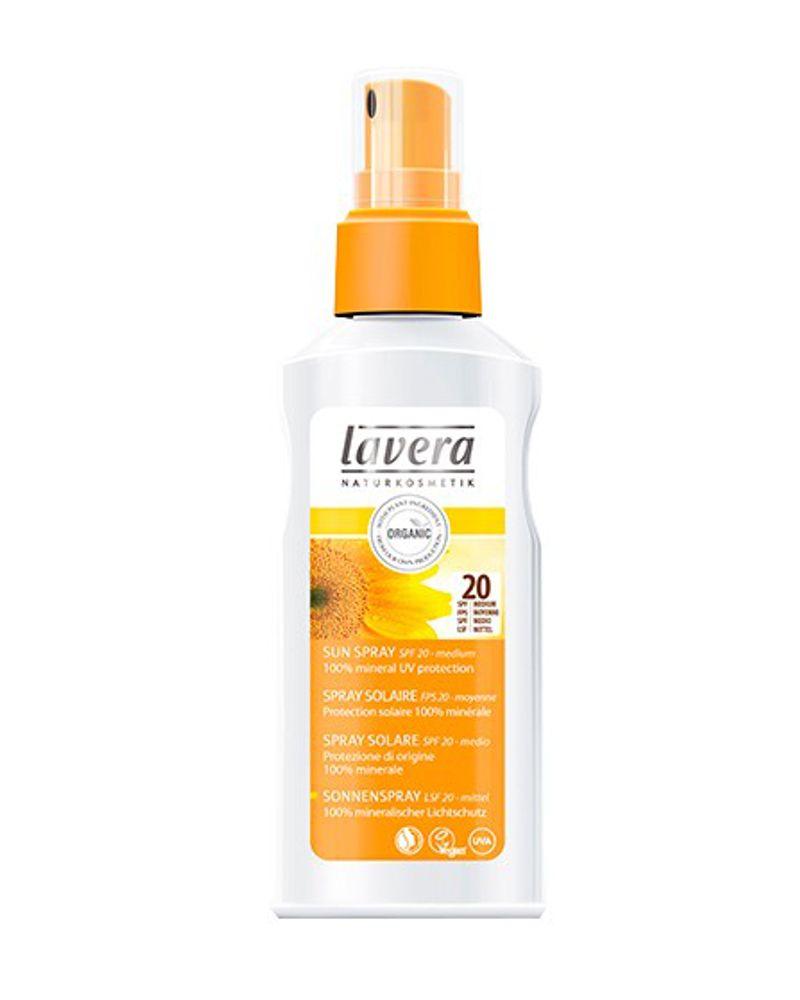 Spray solaire FPS 20 - 125ml - LAVERA