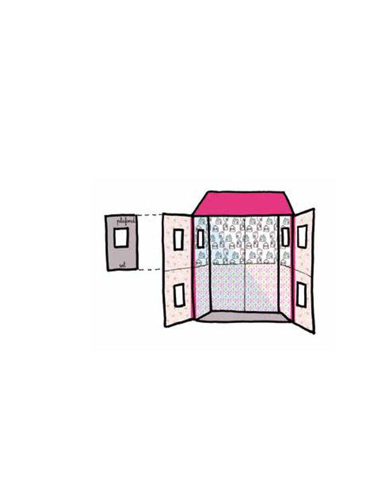 Maison de poupée étape 6