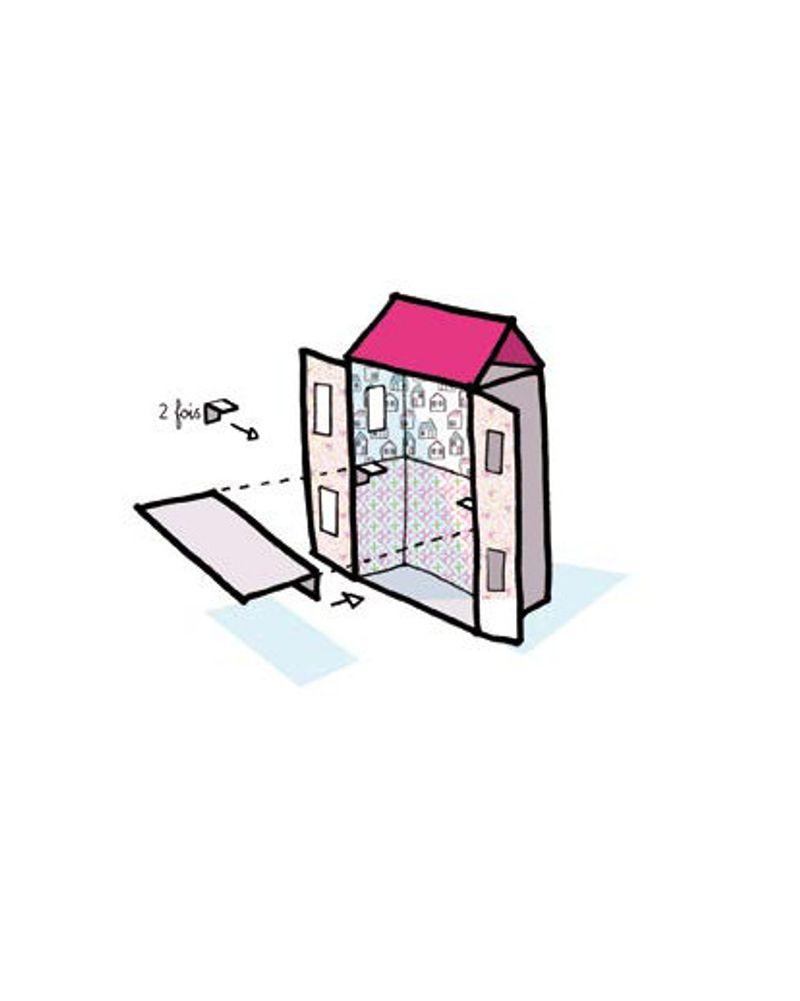 maison de poupée étape 7