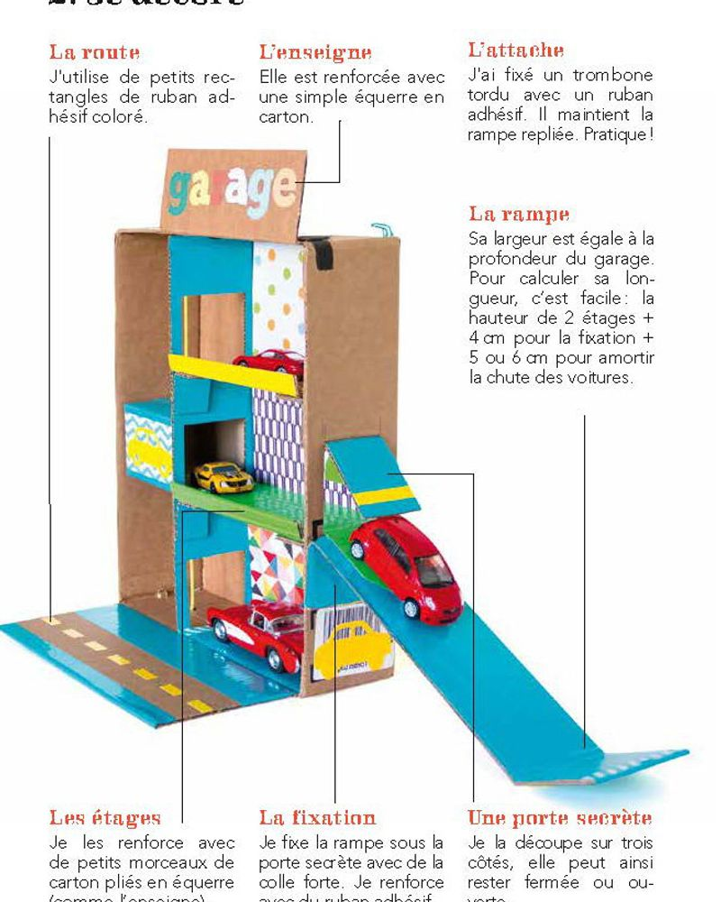 Garage petites voitures 14