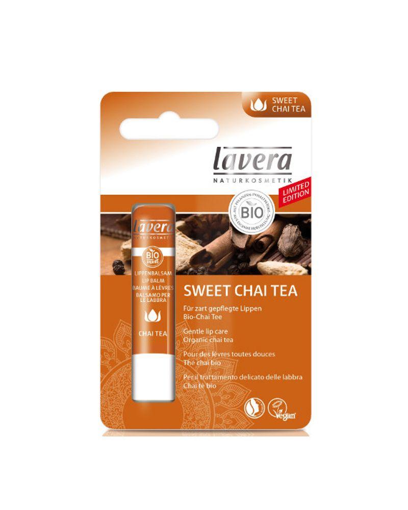 Lavera baume à lèvres sweet chai tea