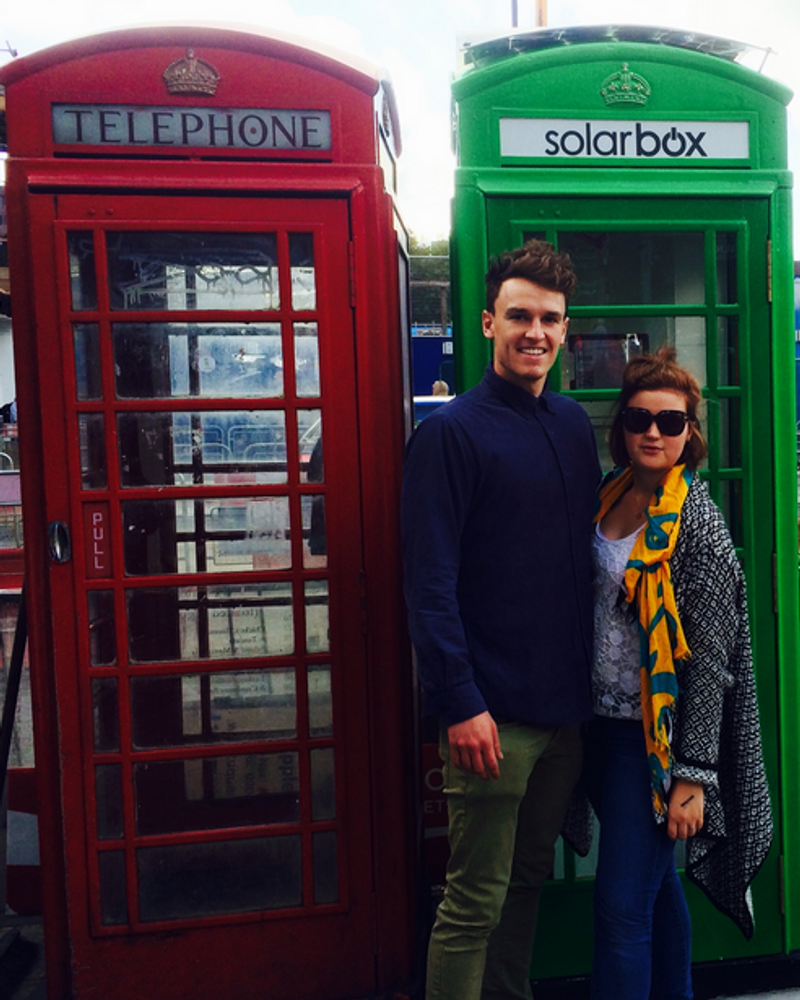 Solarbox les nouvelles cabines téléphoniques à Londres