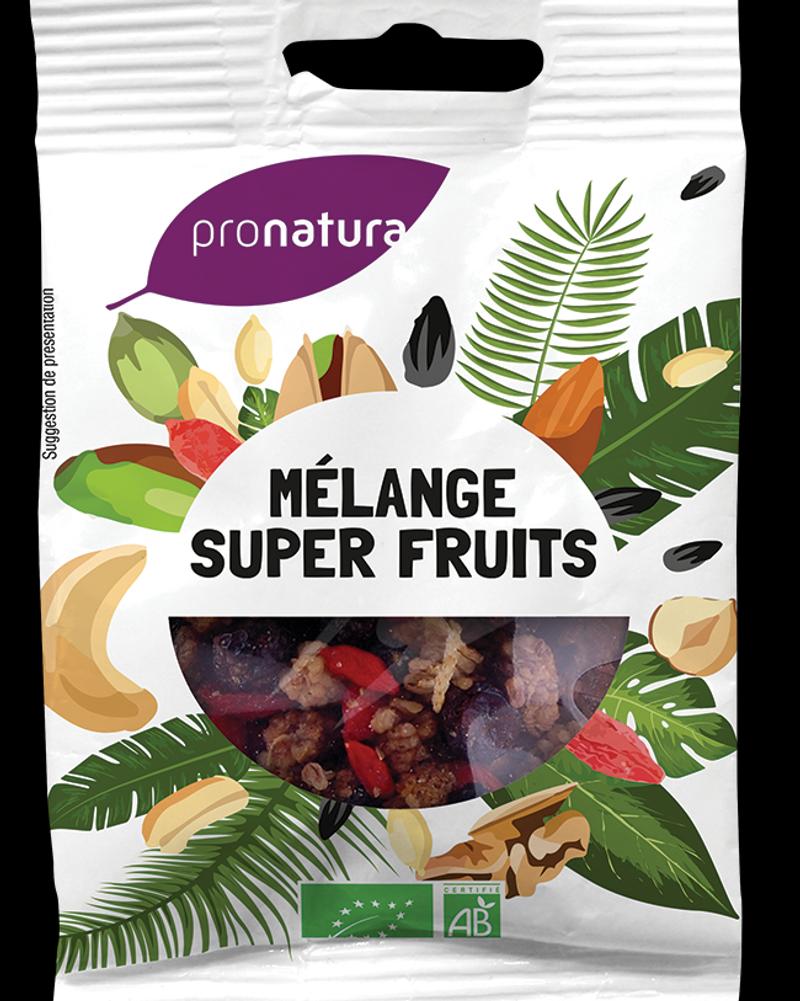 Fruits secs et séchés en petit format, Pronatura