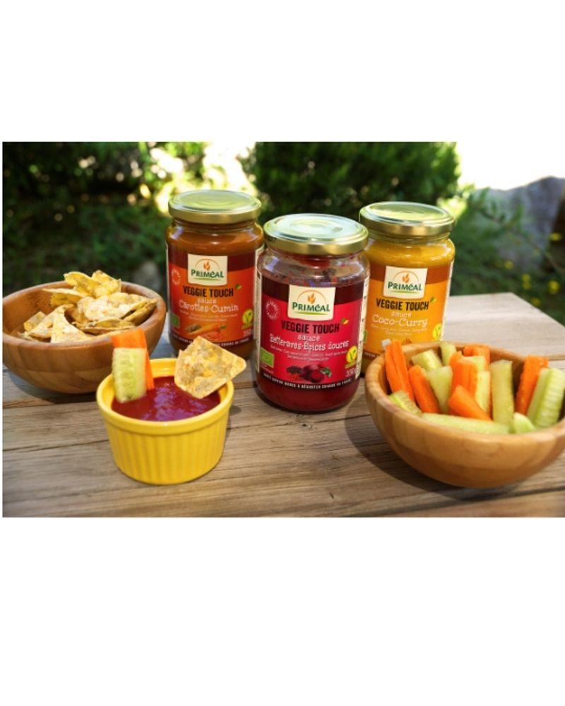 Sauces Veggie Touch', Priméal
