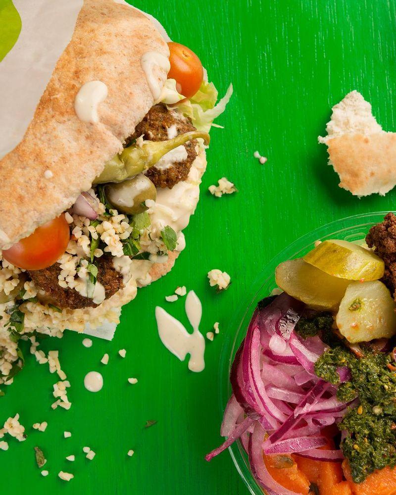 Maoz restaurant vegan Barcelone