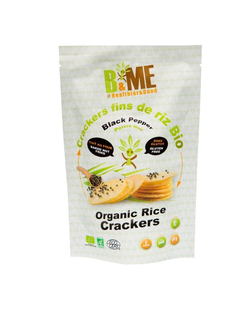 B&ME, crackers fins de riz bio,
