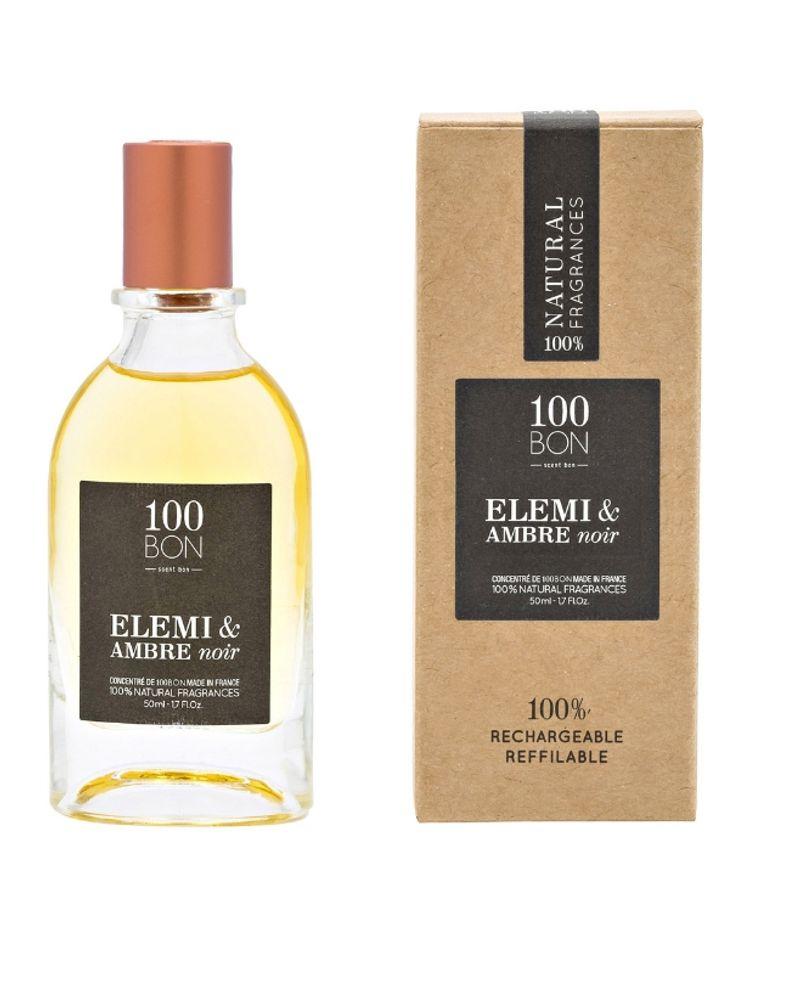 Parfum Élémi & ambre noir, 100bon
