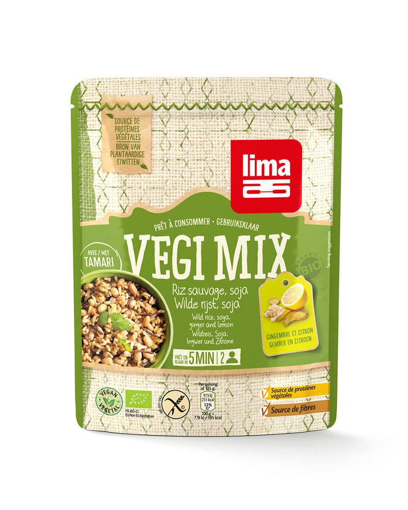 Doypack lima veggie mix
