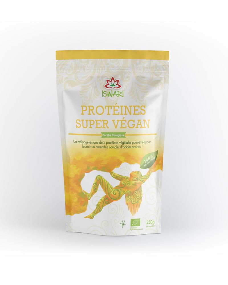 Protéine Super Vegan, Iswari