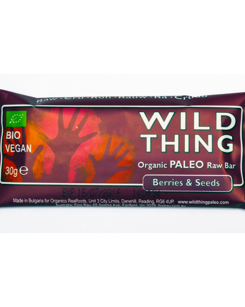 Barre graines et baies, Wild Thing