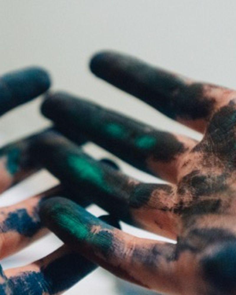 peinture mains do it yourself