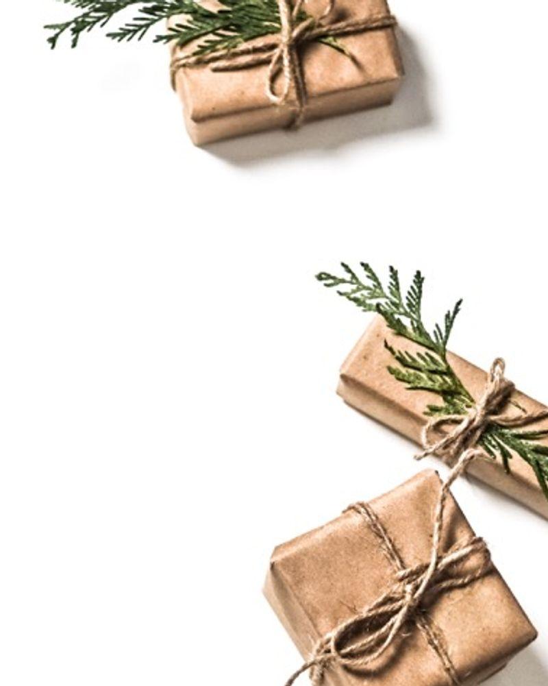 cadeaux noel branche de sapin