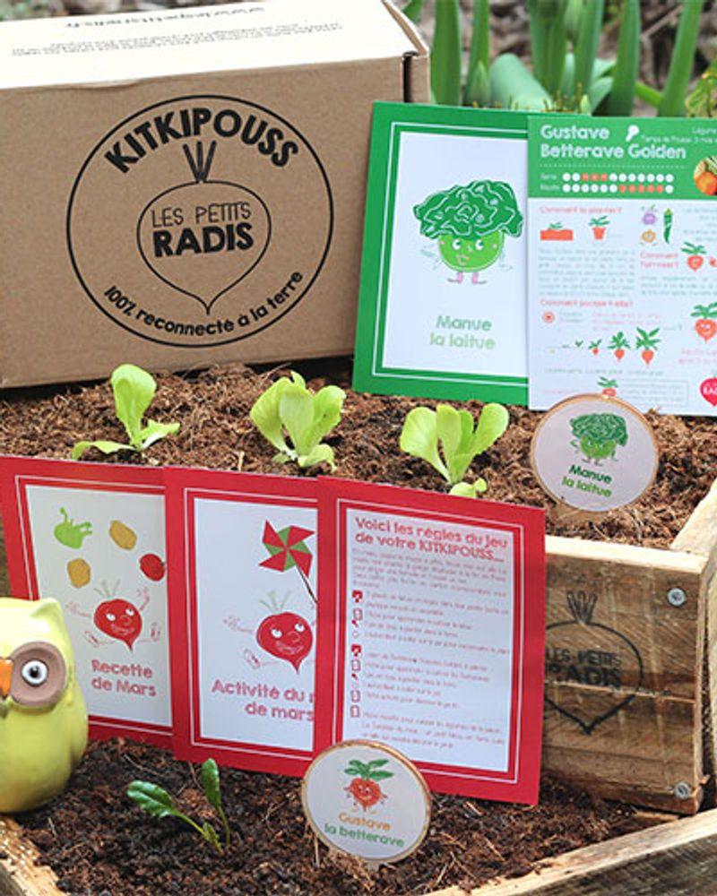 Jardinage écolo : 6 box à découvrir