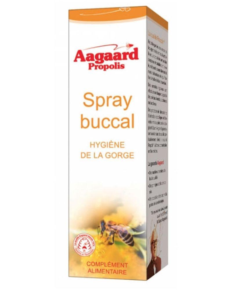 Aagaard, spray buccal propolis, 12,35 €