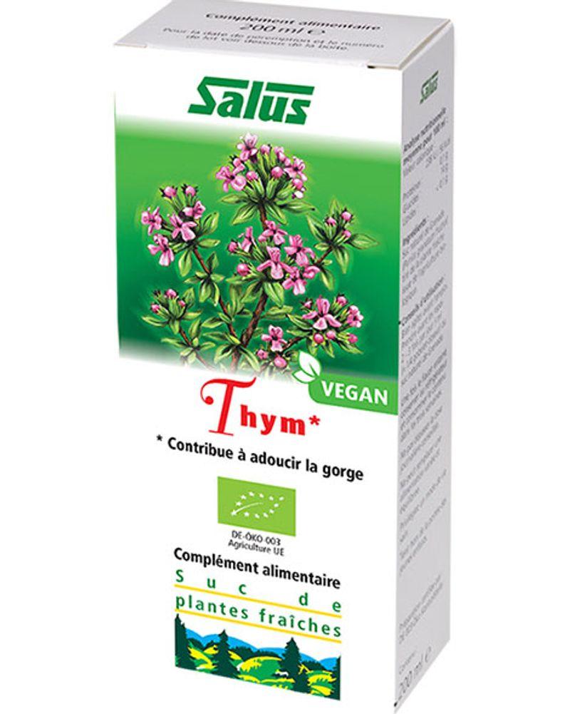 Salus, suc de thym