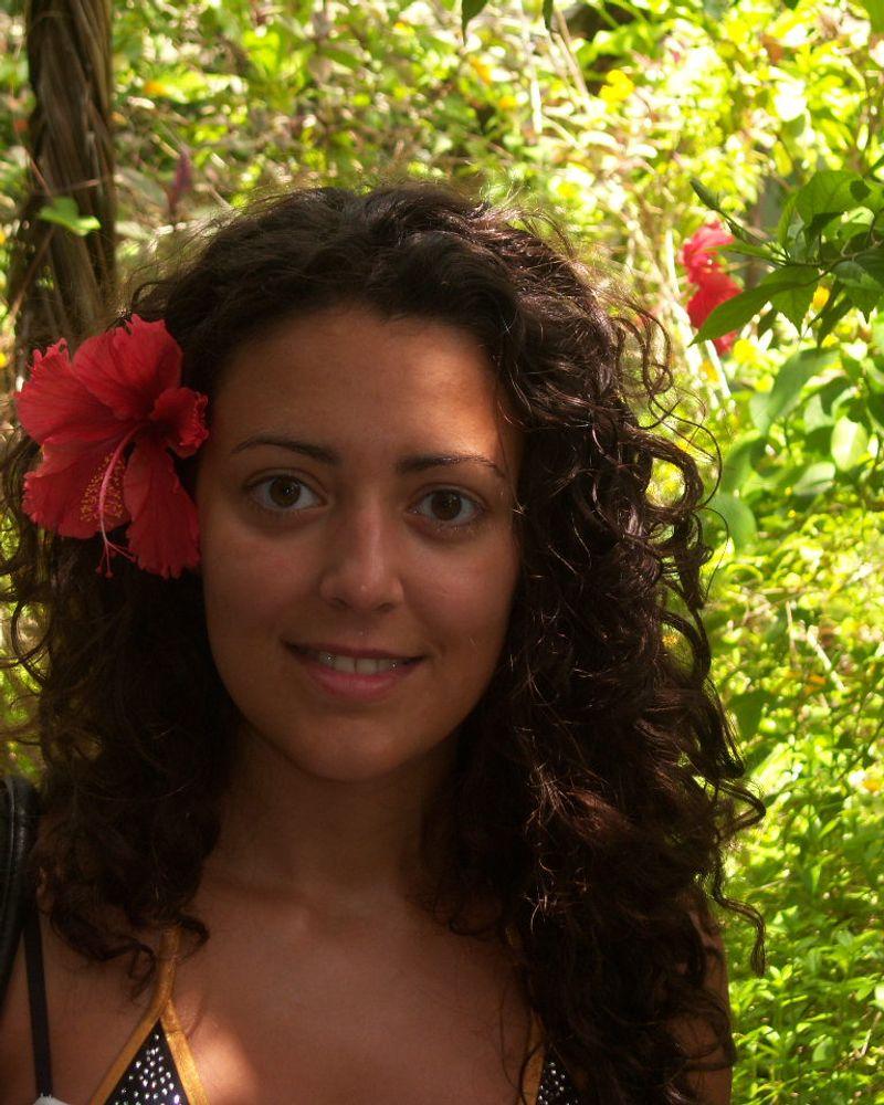 Angélique Pereira, finaliste de La Miss Bio 2019