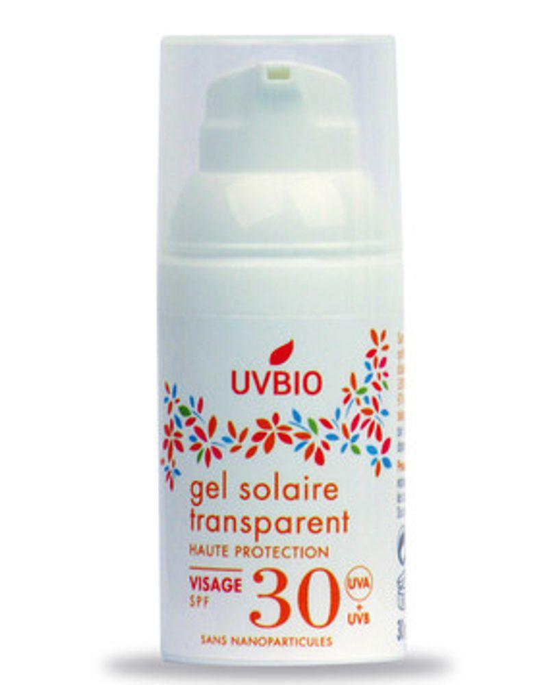 gel solaire uvbio