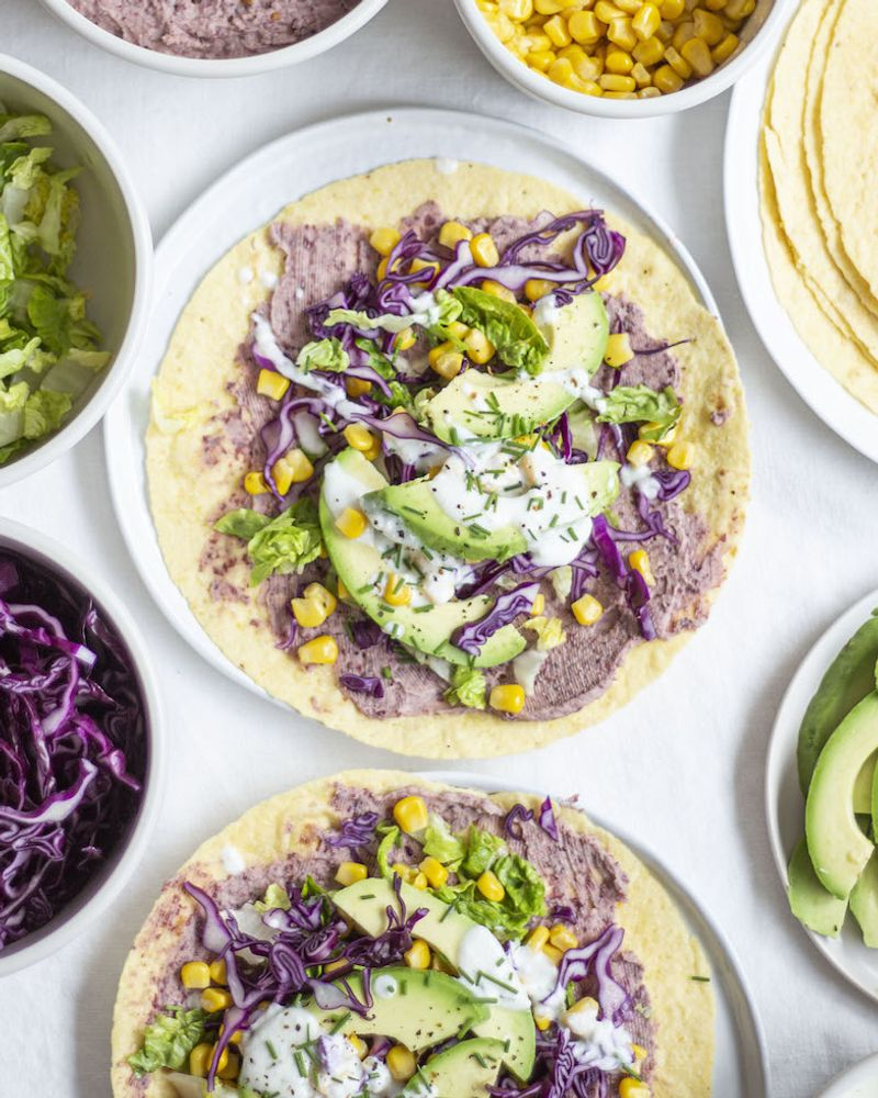 Tacos aux légumes