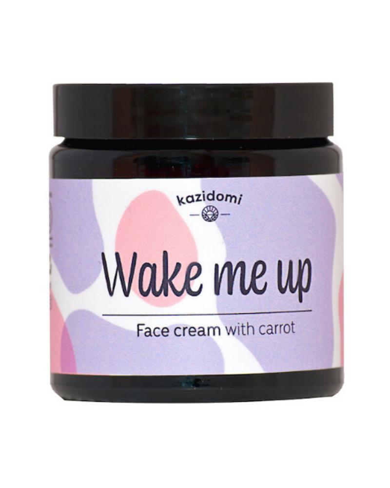 Crème visage peau sèche et sensible Wake Me Up, Kazidomi