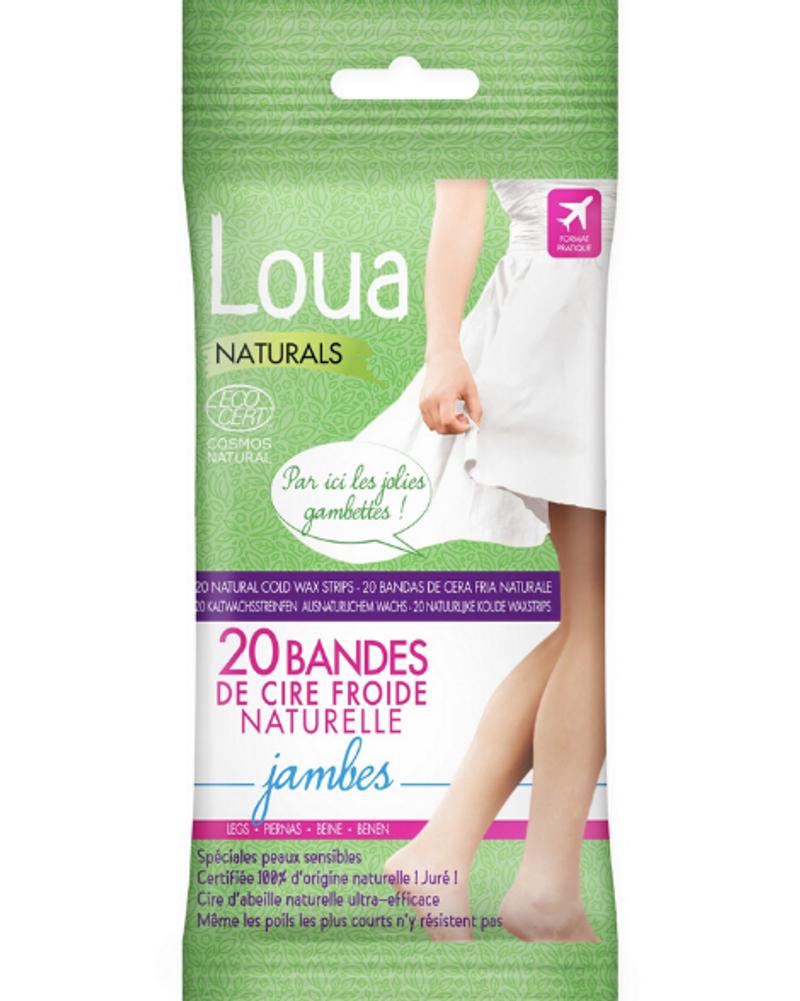 Bandes de cire froide jambes, Loua