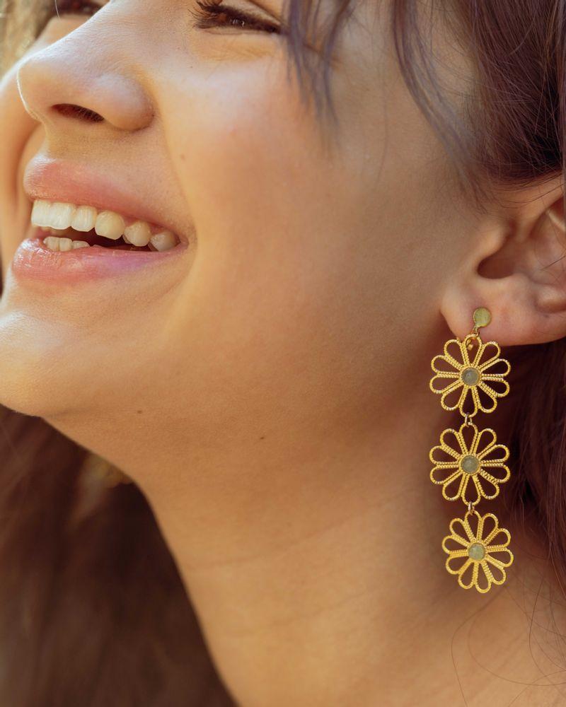 boucles d'oreilles Maison Plune