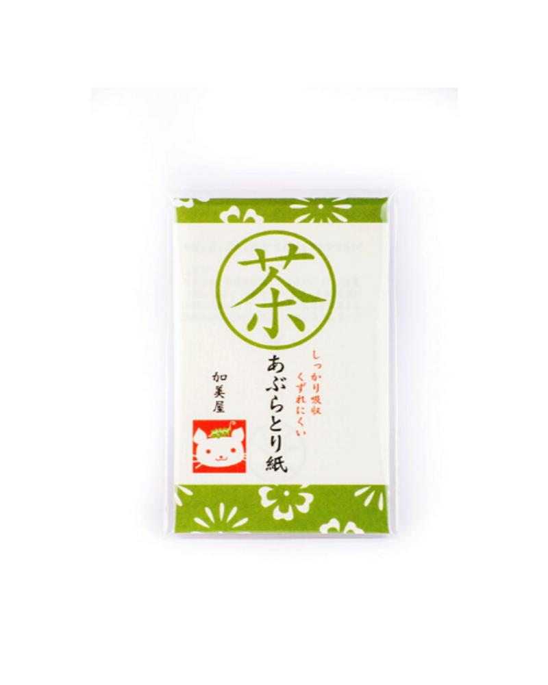 Papier matifiant thé vert et chanvre, Bijin