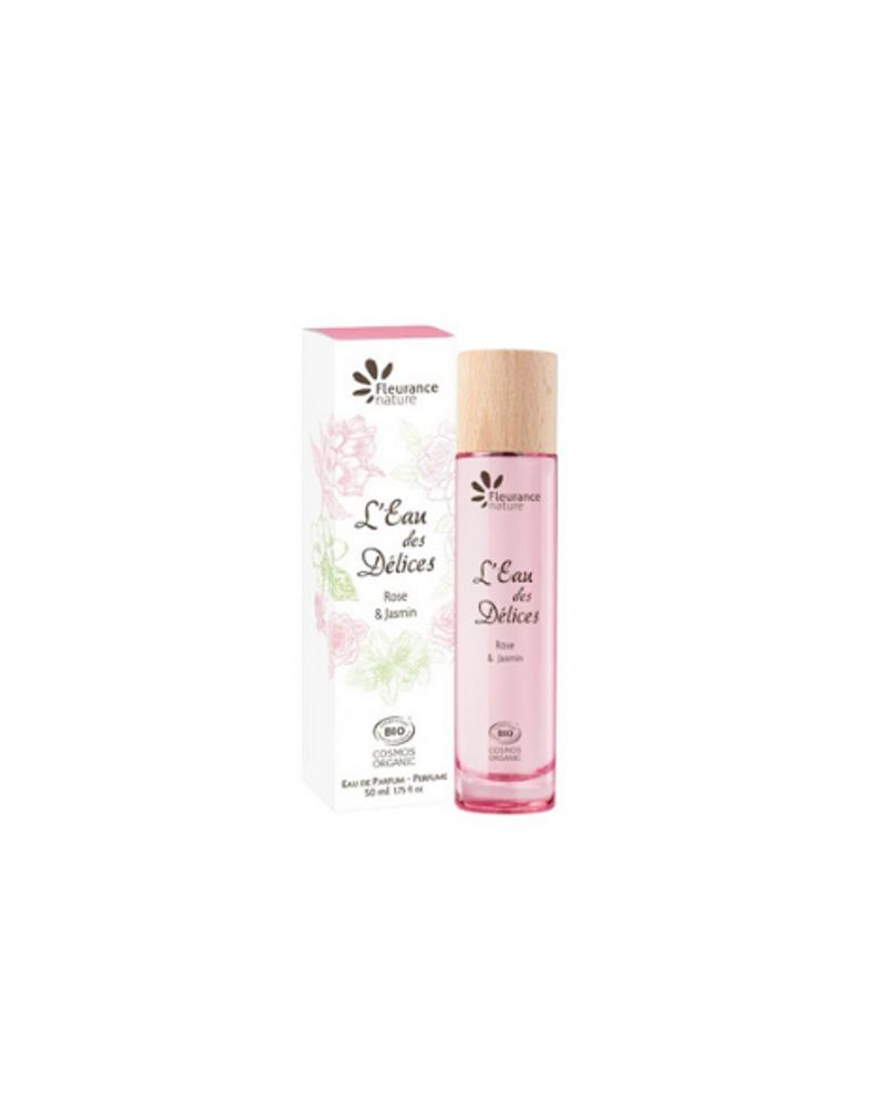 L'Eau des Délices Rose & Jasmin, Fleurance Nature