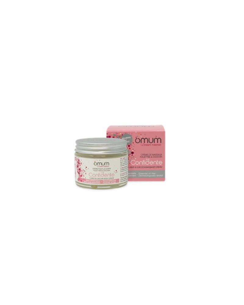 Crème de massage fouettée et cocoon, Omum