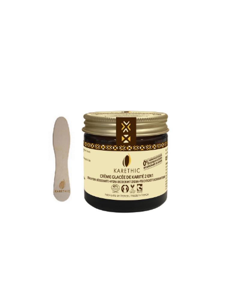 Crème Glacée de Karité 2 en 1- Hydra déodorante, Karethic