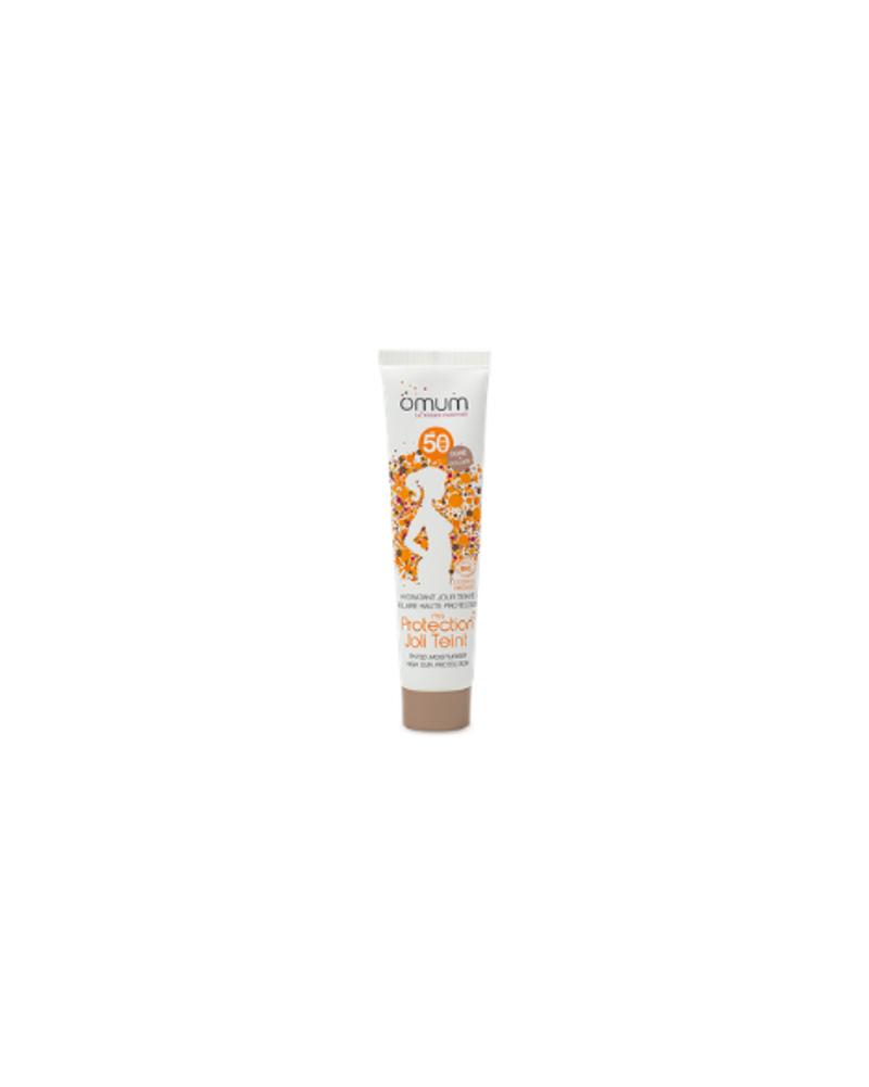 Crème teintée SPF 50 (2 teintes), Omum