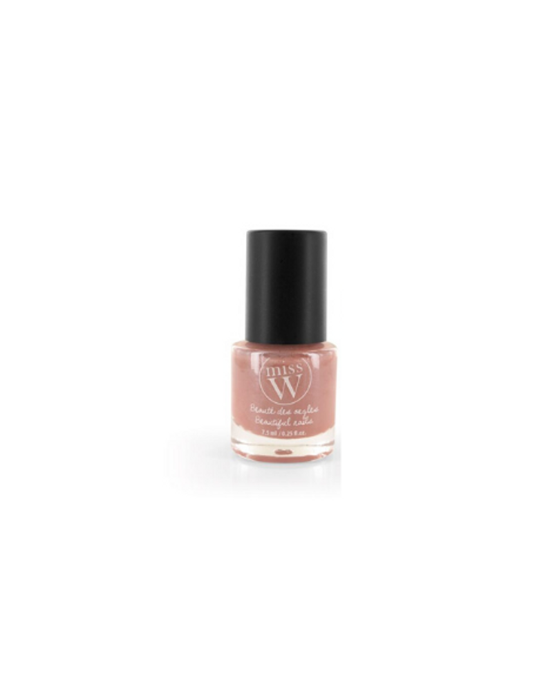 """Vernis à ongles nacrés """"rose poudré"""", Miss W"""
