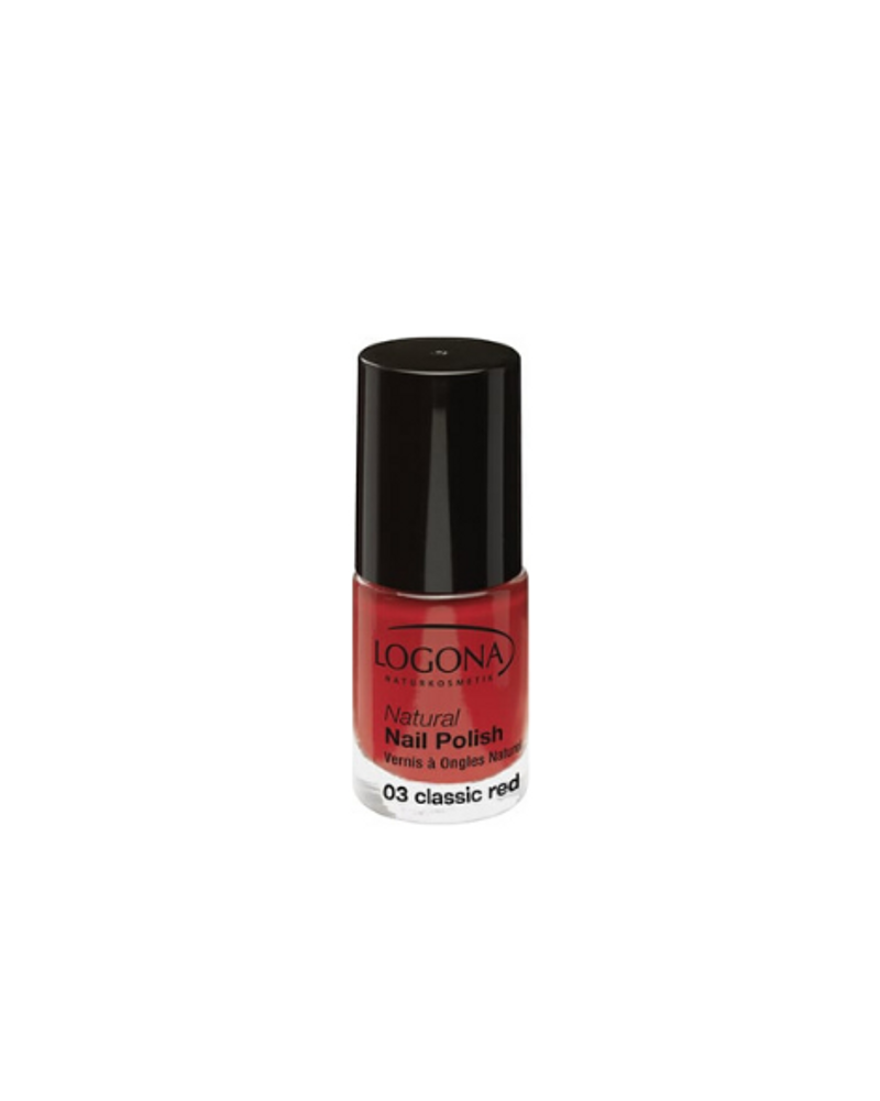 "Vernis à ongles ""Classic Red"", Logona"