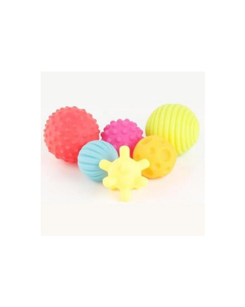 6 balles sensorielles bébé, Montessori