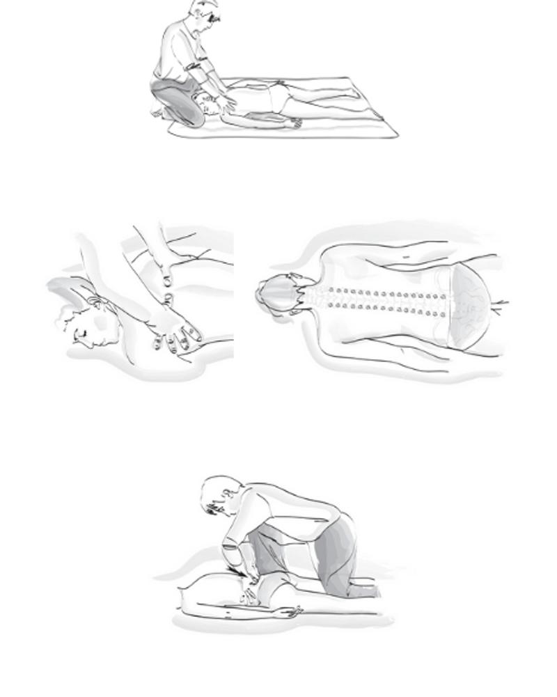 Shiatsu pour le dos