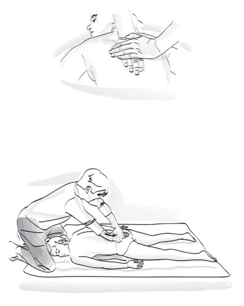 shiatsu exercice dos